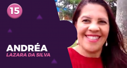 15 – ANDRÉA LAZARA DA SILVA